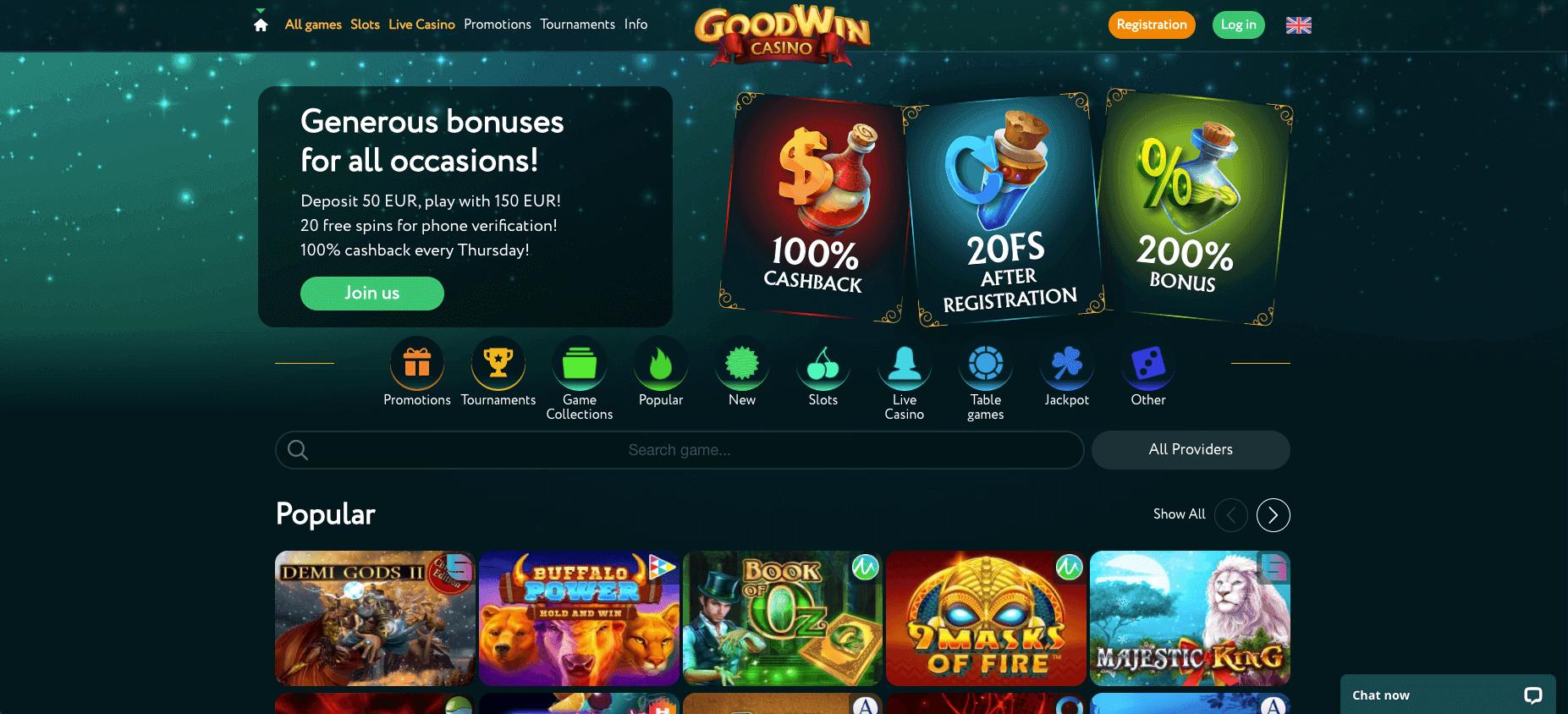 Goodwin Casino